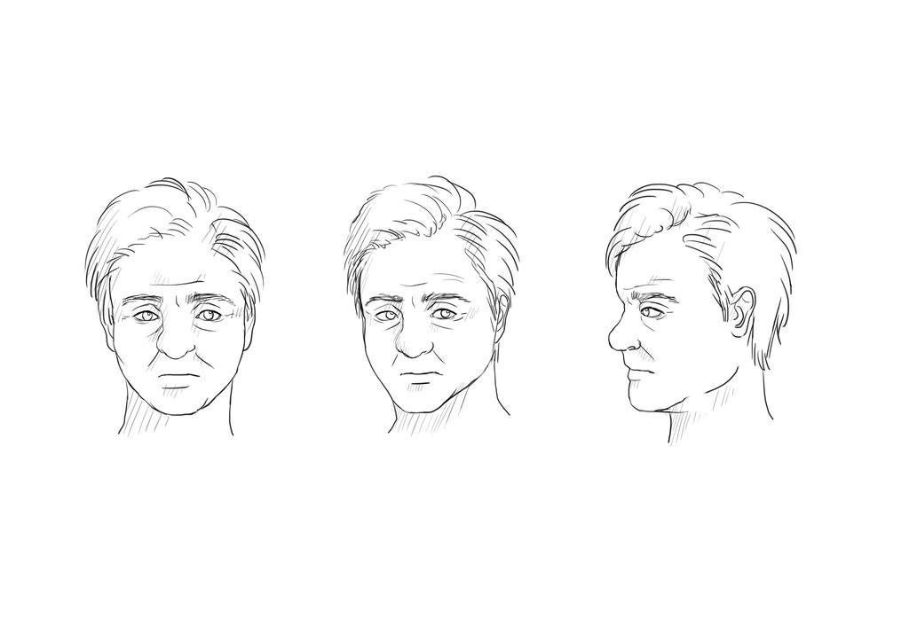 Pyke's face: from many angles by HailComic