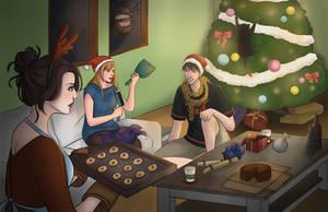 A Very Hail Christmas by HailComic