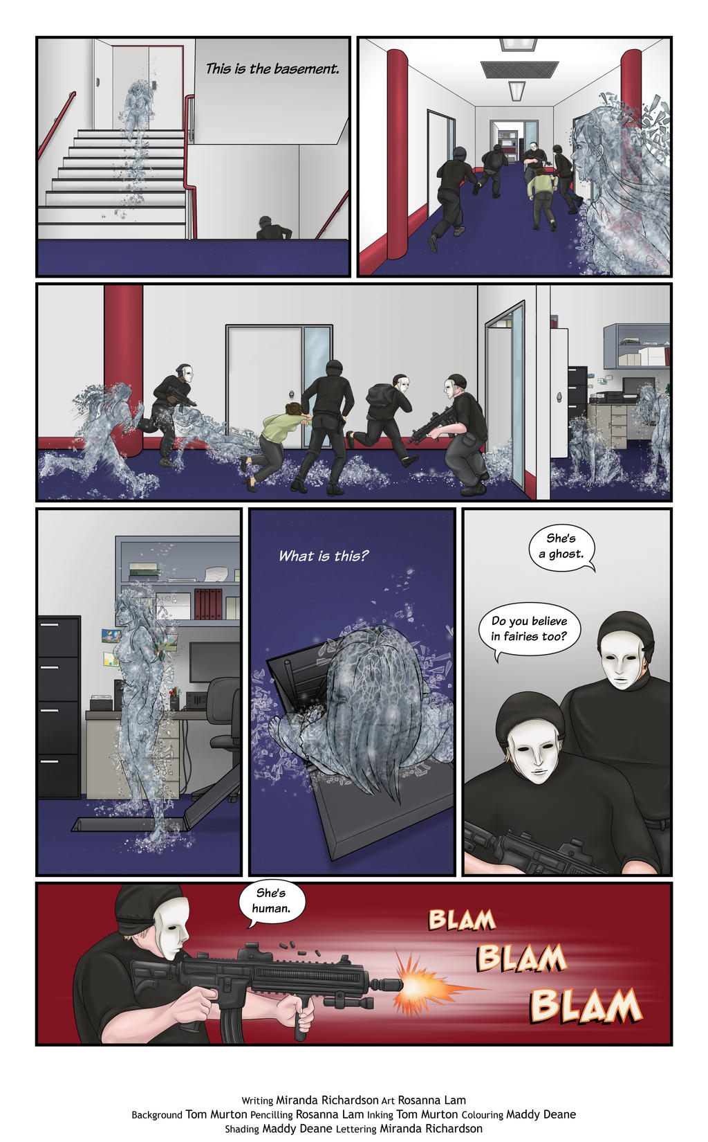 Hail Issue 3 Page 10 by HailComic