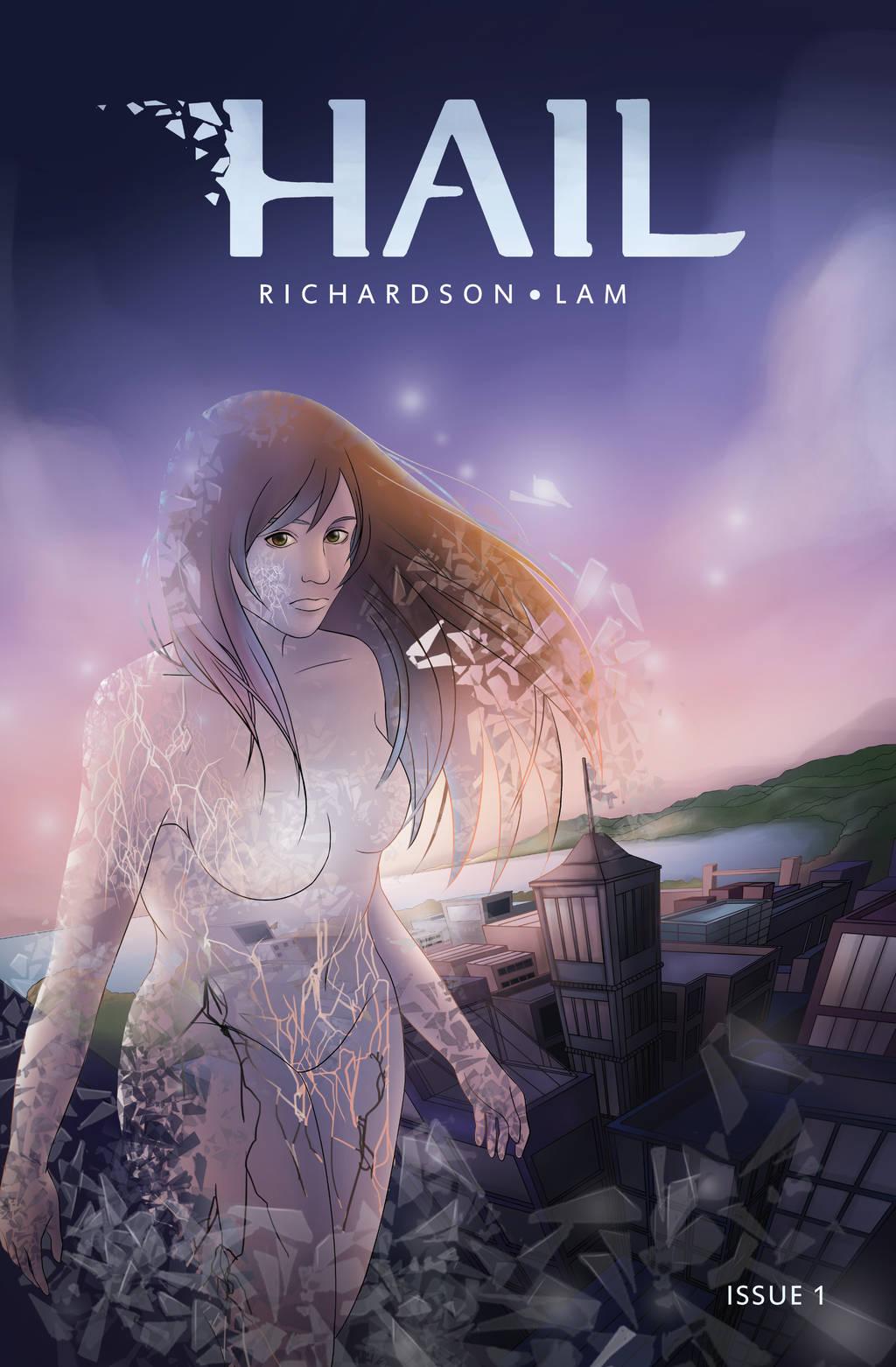 Hail Issue 1 Cover by HailComic