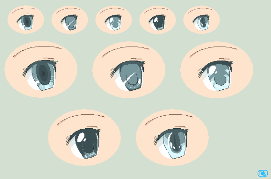 Different Pixel Eyes by BEKbases