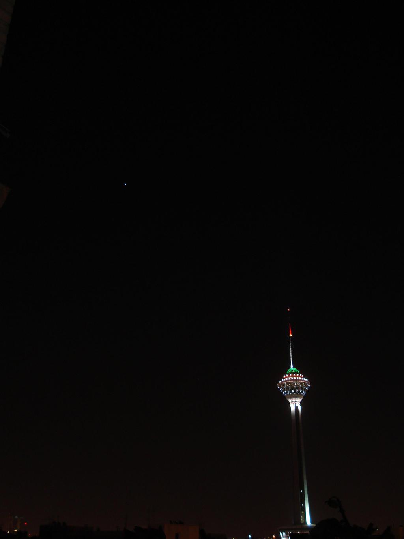 Jupiter in Tehran Sky by aryanwicked