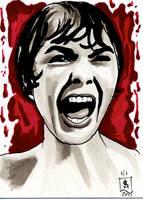 Women of Horror SC- Janet Leigh by kreepykustomz
