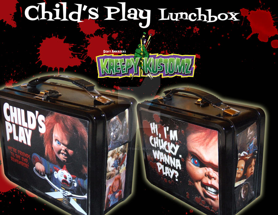 Child's Play Lunch Box by kreepykustomz