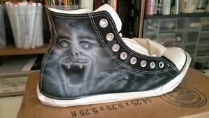 Fright Night Sneakers - WIP