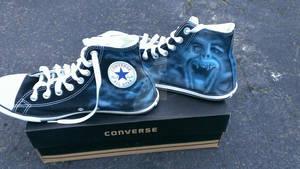 Custom Fright Night Sneakers