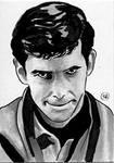 Sketch Card - Psycho Norman Bates
