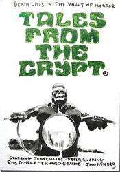 Tales From The Crypt 1972 Movie Poster Sketch Card