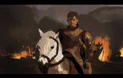 (Study) Jaime Lannister by The-Poumi