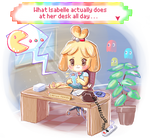 Isabelle gaming