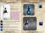 Umbra character sheet