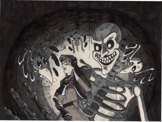 Boney Ghost by Scardy