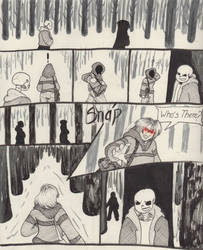 Into the Underground- Snowdin pg2 by Scardy