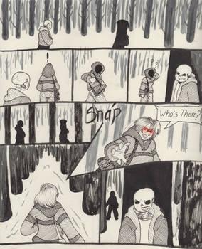 Into the Underground- Snowdin pg2