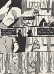 Into the Underground- Snowdin pg3