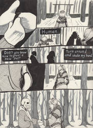 Into the Underground- Snowdin pg3 by Scardy