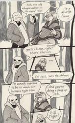 Into the Underground- Snowdin pg4