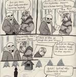 Into the Underground- Snowdin pg5