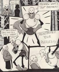 Into the Underground- Snowdin pg6