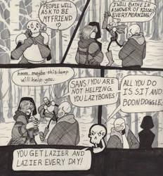 Into the Underground- Snowdin pg8