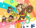 Monkey parade