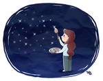 Paint your Sky with Stars. by frandemartino