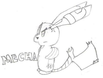 Mechachu by oshiokusanagi