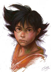 Little Goku! by Katsuvy