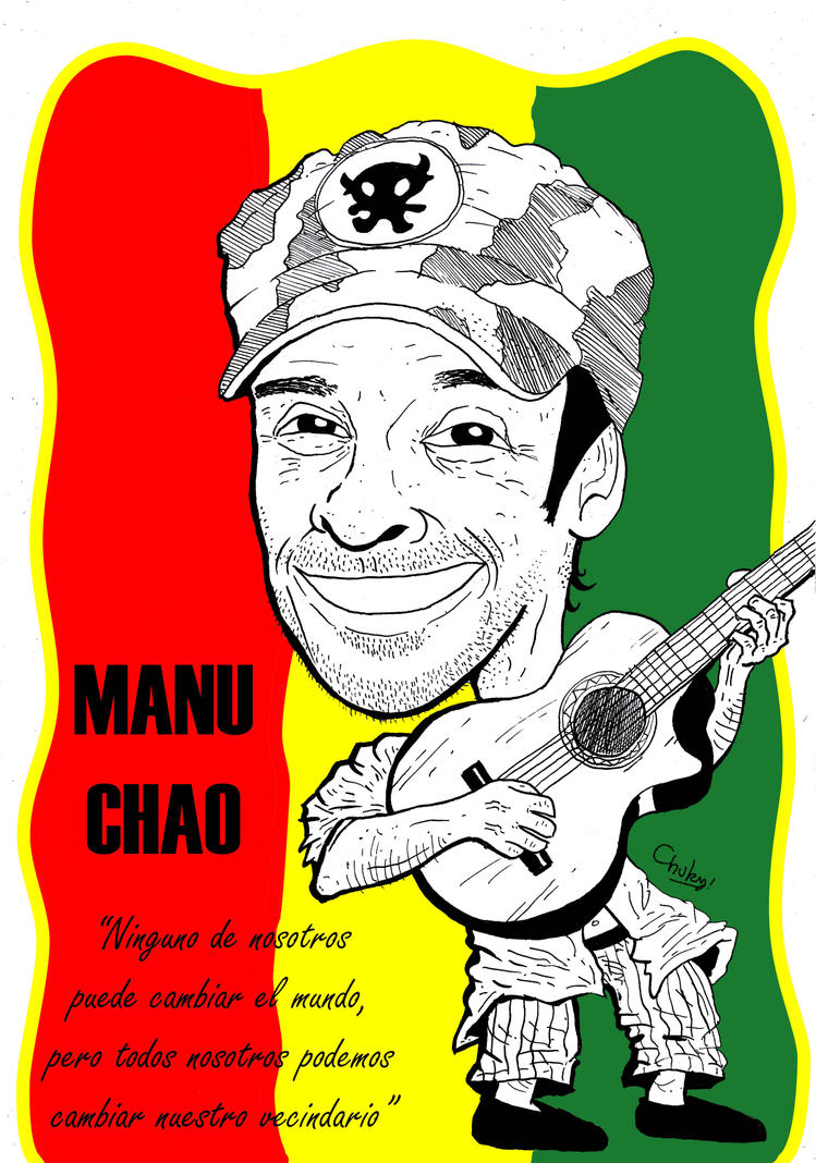 Manu Chao by Chukyrossi