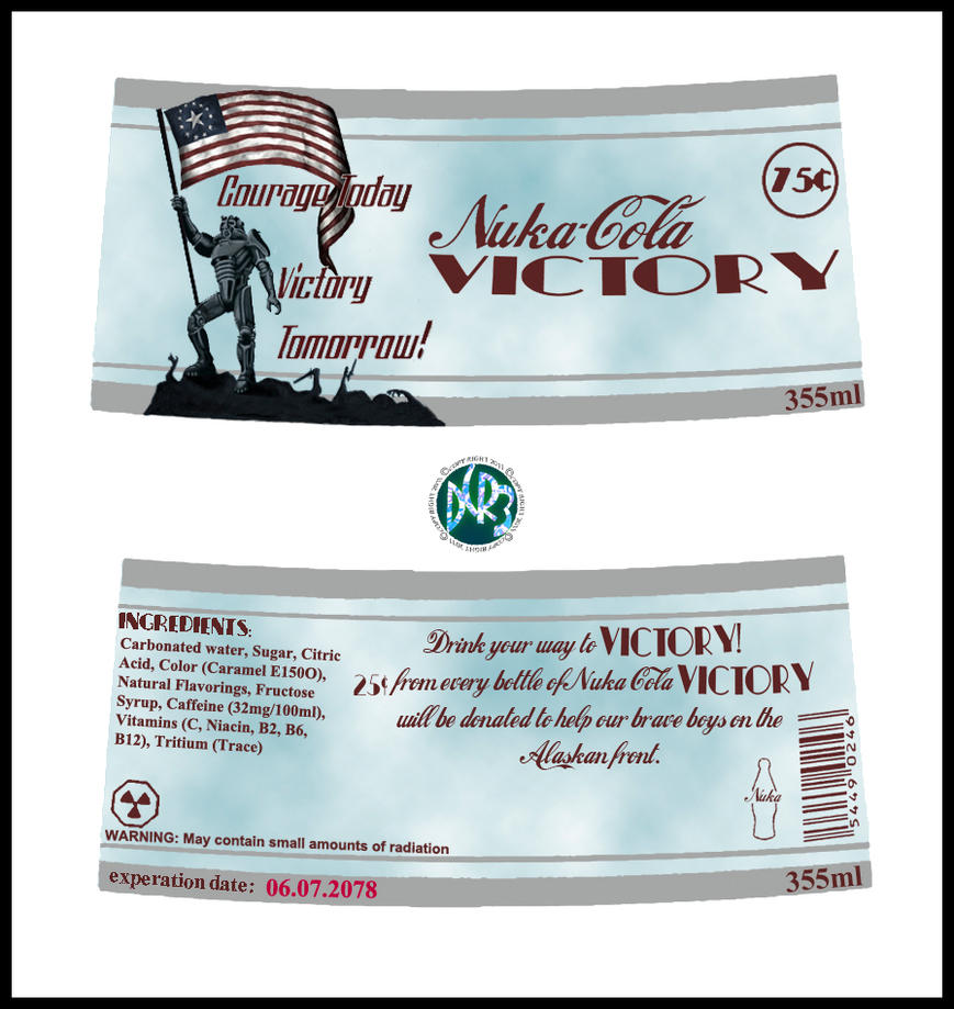 Nuka_Cola_Victory_ Label by DCRIII