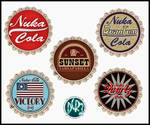 Fallout 3 and New Vegas bottle caps