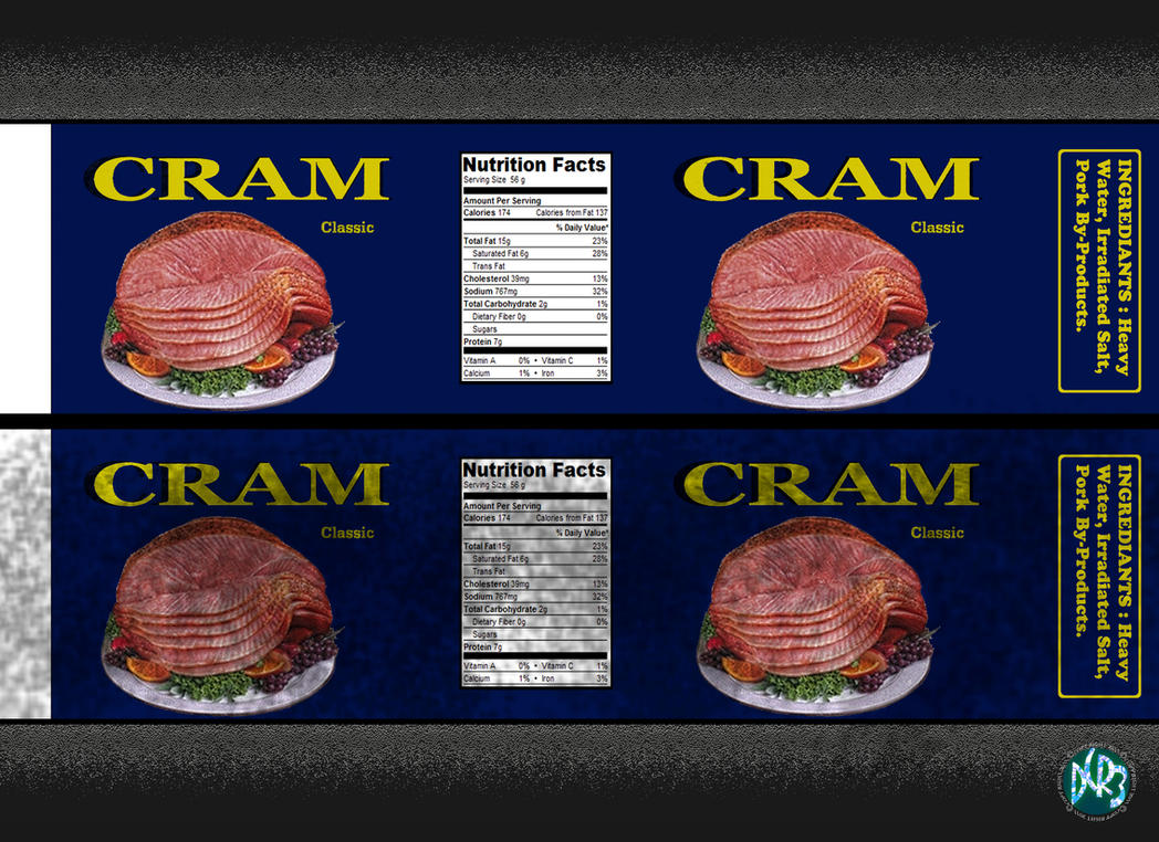 CRAM label by DCRIII