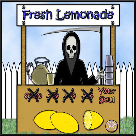Deaths Lemonade Stand by DCRIII
