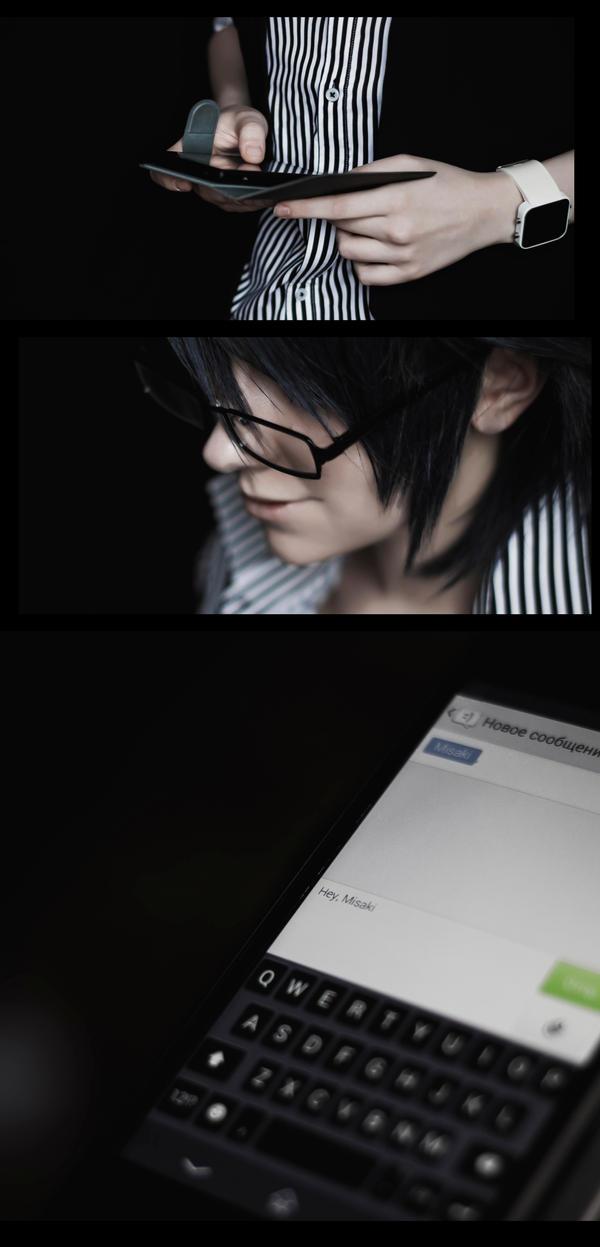 Hey Misaki - K project by ScarletCardinal