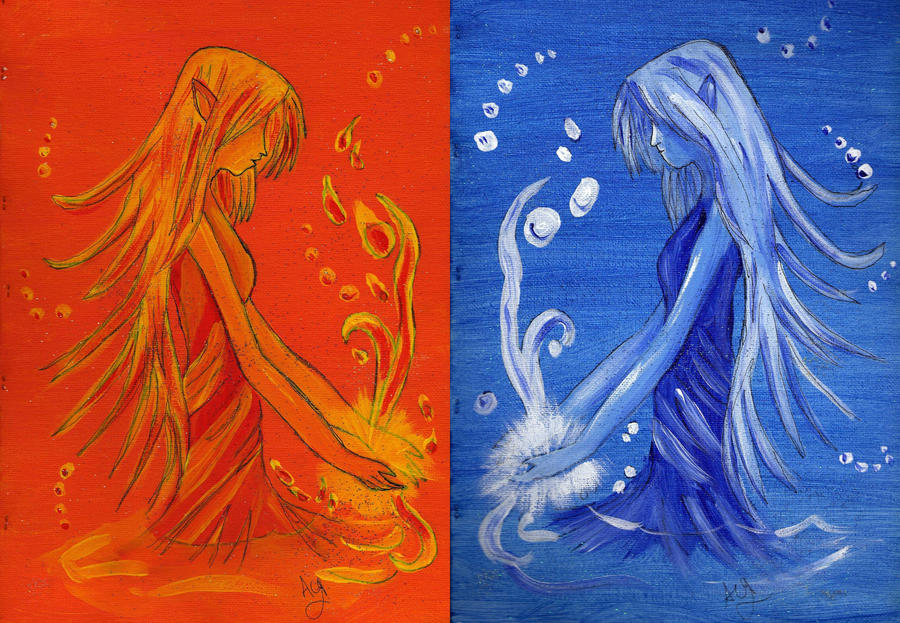 fire fairy and water fairy by AsiaArt87 on DeviantArt