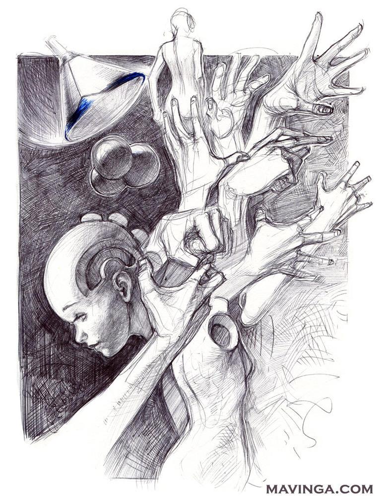 Sketchbook craziness by mavinga