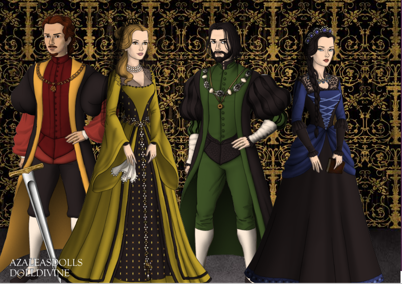Hogwarts Founders by MimiMarquez16 on DeviantArt