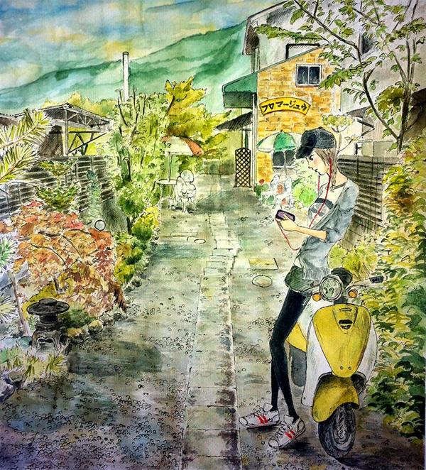 Kazuka's part-time by hokkaidoblues
