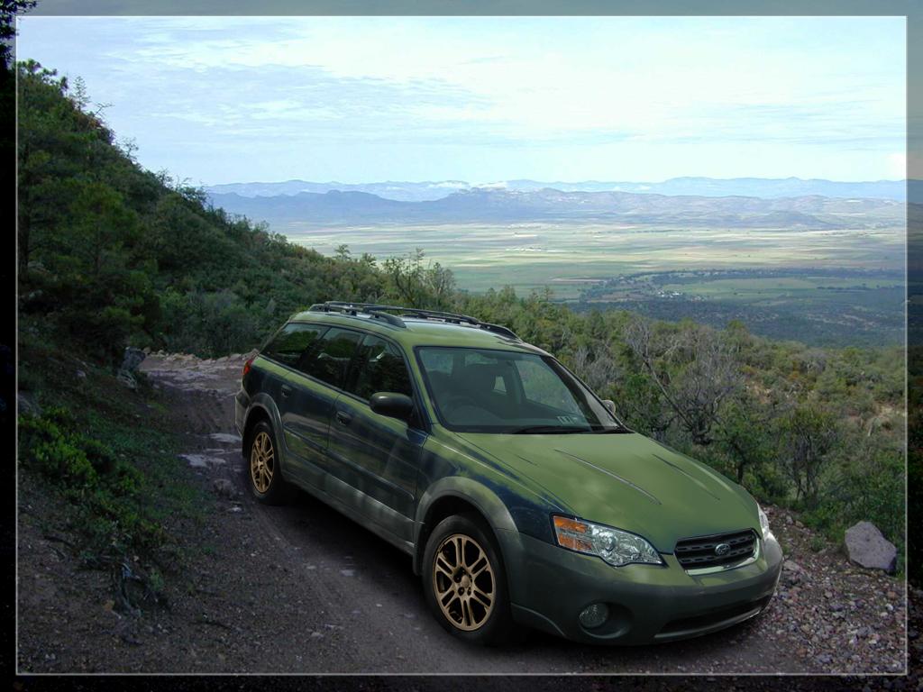 Modded Subaru Outback By Krazykohla