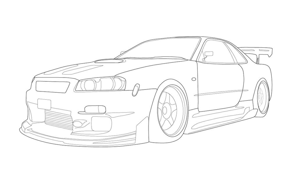 nissan gtr nismo coloring pages | 2014 Nissan Skyline Gtr Coloring Pages Coloring Pages