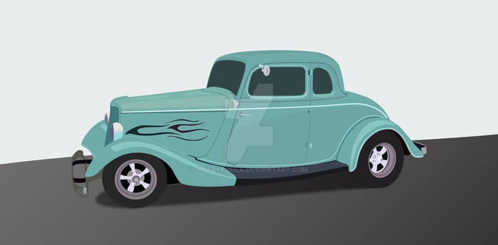 '33 Ford Vector WIP