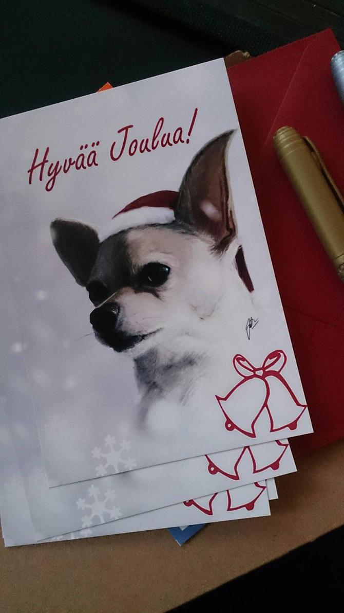 Christmas cards by wakedeadman