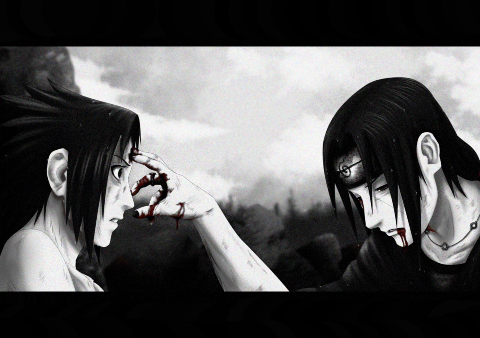 Itachi And Sasuke Uchiha Wallpaper By Spakey On Deviantart