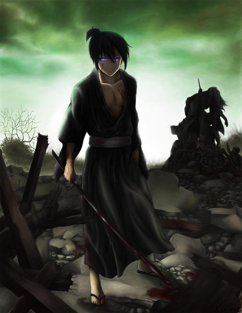 Yato The God of Calamity (Noragami) by Ksulolka