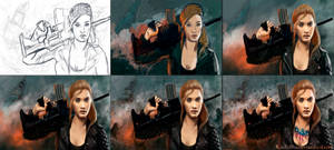 Process of the work ( HomeFront Contest )