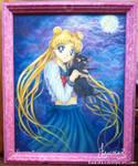 Usagi and Luna (Sailor Moon)