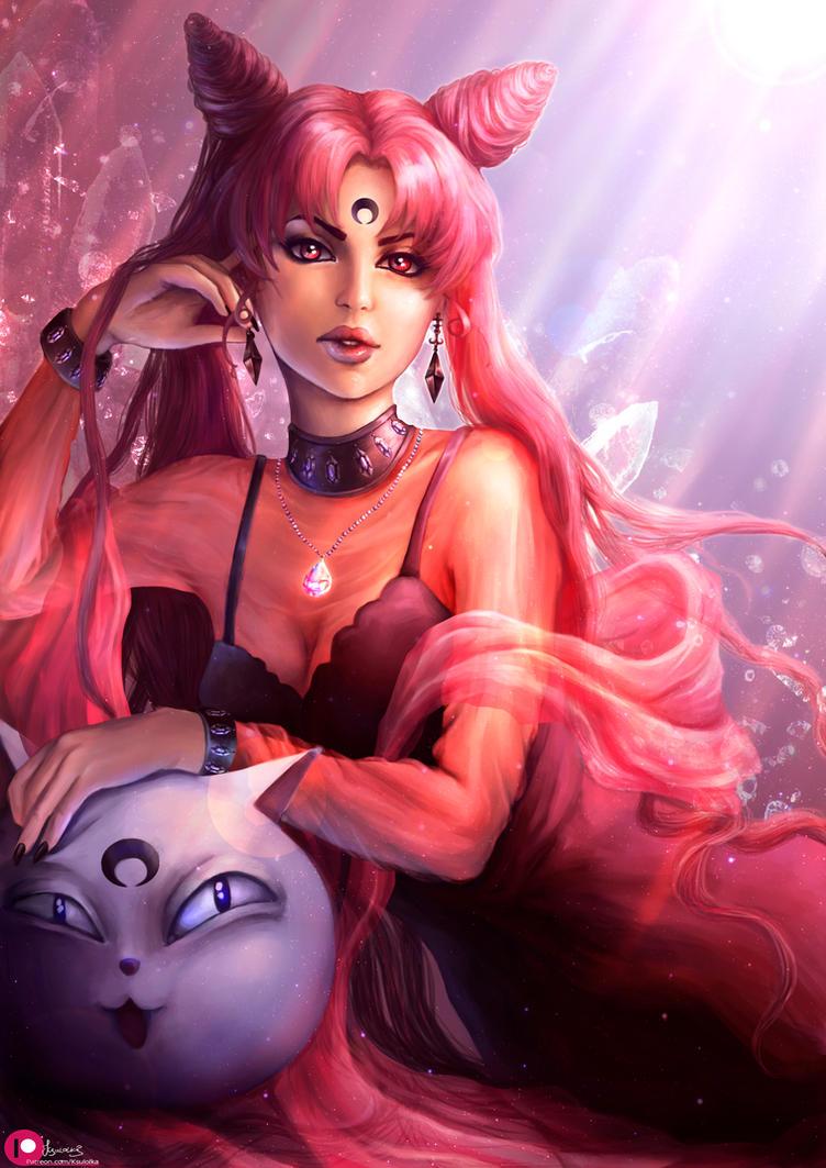 Black Lady (Sailor moon) by Ksulolka