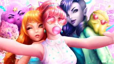 Selfie Time! (Adventure Time) by Ksulolka