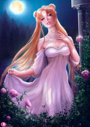 Wedding Neo Queen Serenity by Ksulolka