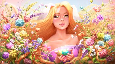 Rapunzel Wallpaper by Ksulolka